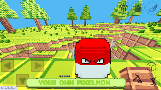 Craft Pixelmon: hunter exploration craft - náhled