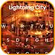 Lightning City Live Keyboard Download on Windows