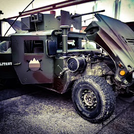 Hummer by Robert Seme - Transportation Automobiles ( army, photooftheday, hummer, vehicles, photo, military, photography, vehicle, transportation,  )