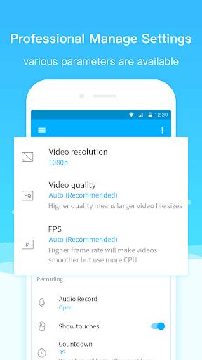Super Screen Recorderu2013No Root REC & Screenshot  screenshots 5