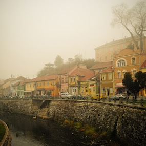 Little Venice by Dejan Ilijic - City,  Street & Park  Vistas ( autumn, fog, old town, river )