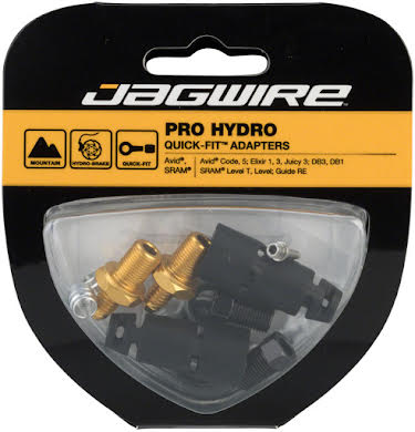 Jagwire Pro SRAM Level T Disc Hydraulic Hose Quick-Fit Adapters alternate image 0