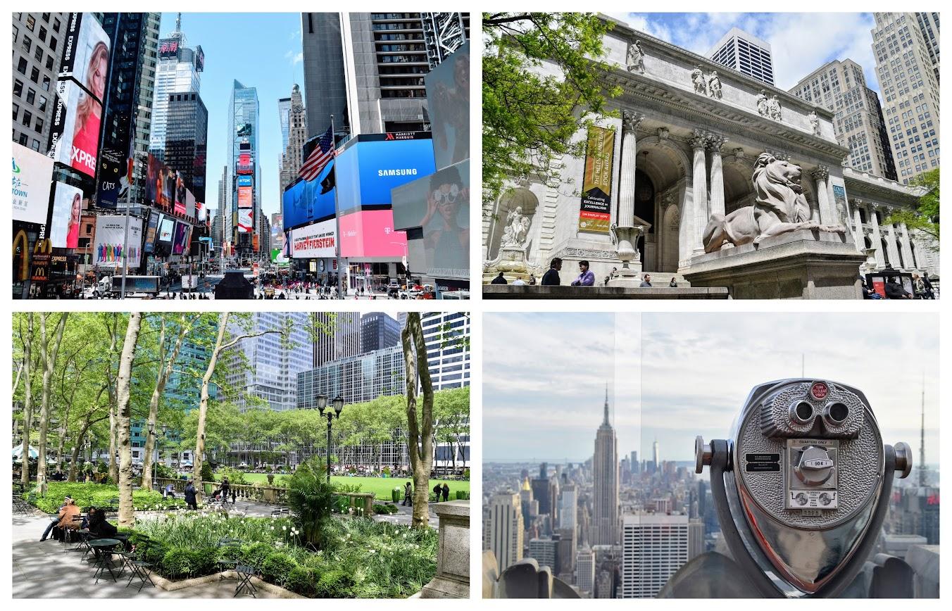ruta de 7 días en Nueva York