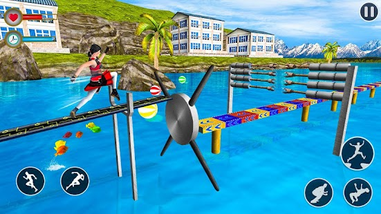 Stuntman Water Running Game