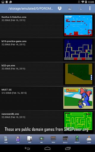 MasterGear - MasterSystem & GameGear Emulator screenshots 9