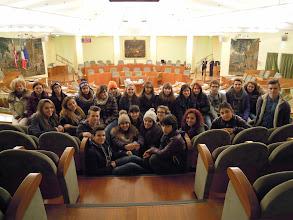 """Photo: 09/12/2014 - Istituto """"Fermi-Galilei"""" di Ciriè (TO). Classe II C."""