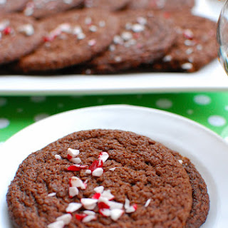 Chocolate Peppermint Cookie Thins
