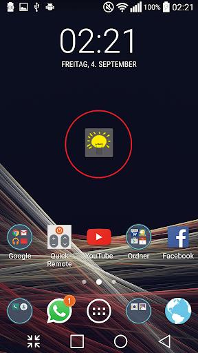 Simple Flashlight Widget