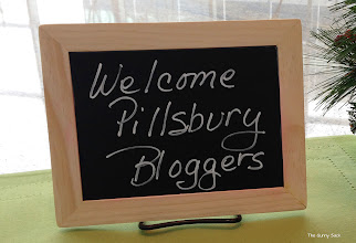Photo: When we entered the kitchen, this cute little chalkboard was set up on one of the counters to welcome us.