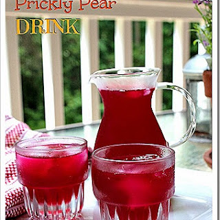 PRICKLY PEAR DRINK.