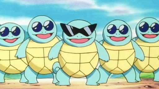 Pokemon Go Player Reveals Amazing In-Game Squirtle Squad Concept