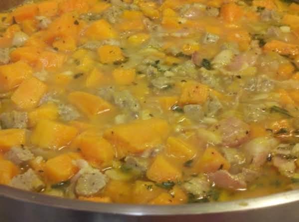 Sweet Potato & Sausage Stew Recipe