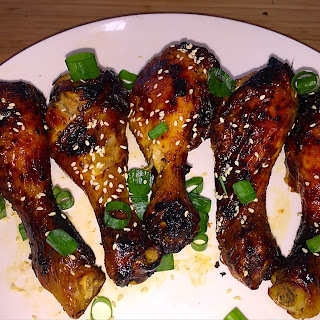 Maple Balsamic Chicken Legs