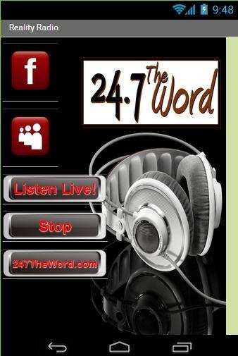 Reality Radio - 24.7 The Word