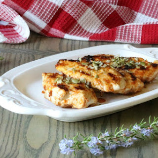 Pan Fried Garlic Paprika Chicken.
