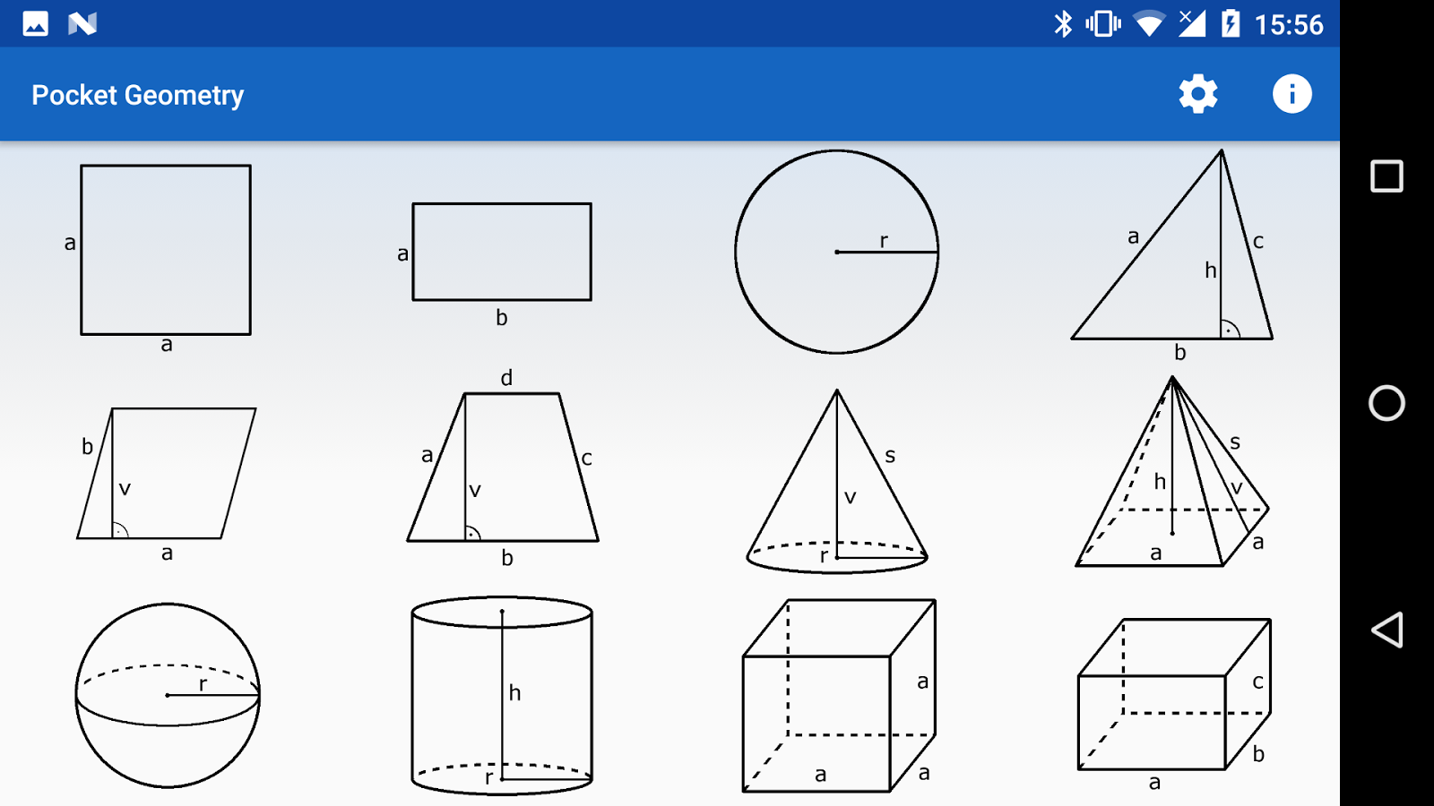 Pocket Geometry Free- screenshot