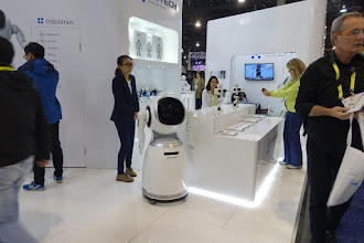 Photo: There were lots of new personal robots after the success of Pepper.   These ones were particularly creepy