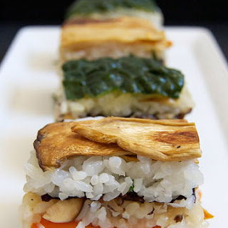 Vegan Pressed Sushi