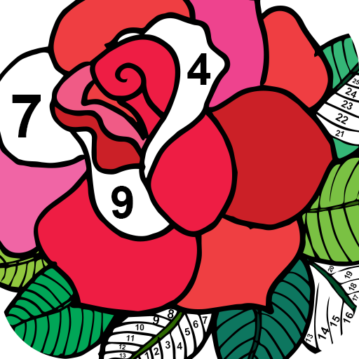 Color By Number New Coloring Book Google Play De Uygulamalar