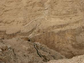 Photo: Water channel in Nahal Prat...תעלת מים בנחל פרת