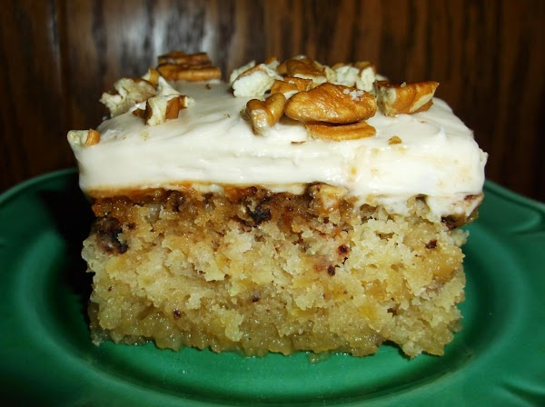 Spread evenly over cool cake; sprinkle with nuts and/or coconut, as desired. Cover and...