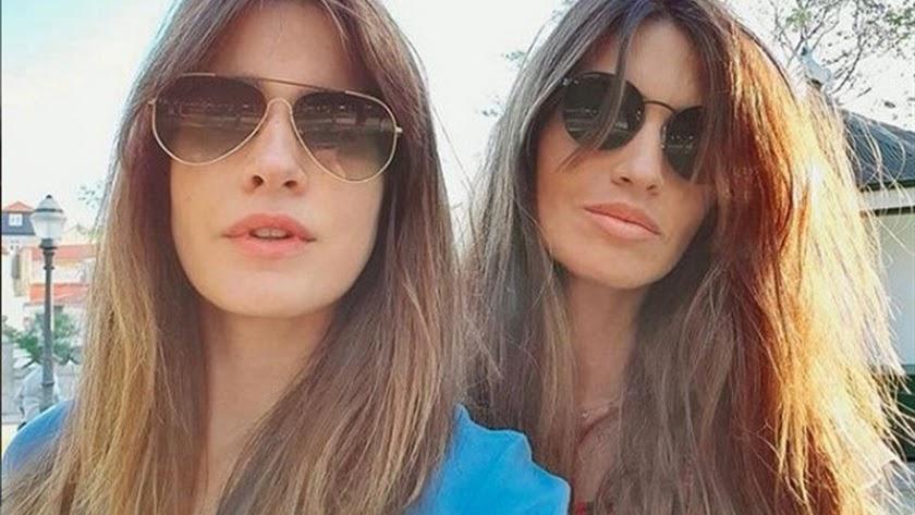 Imagen de Isabel Jiménez y Sara Carbonero que ha compartido esta última en Instagram.