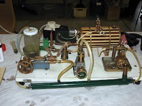 Photo: platine vapeur à chauffage électrique bien encombrée
