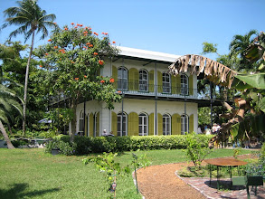Photo: The Hemingway House in Key West