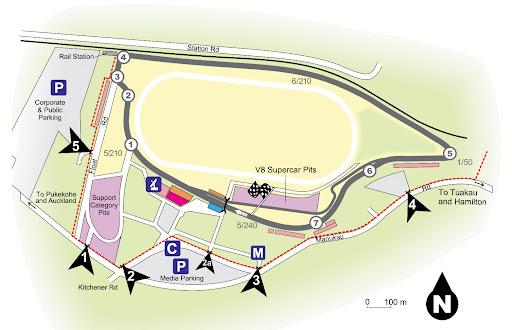 PlaceMakers V8 Supercars, Pukekohe Park Raceway