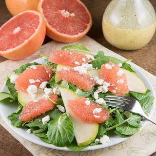 Grapefruit Salad with Champagne Vinaigrette Recipe