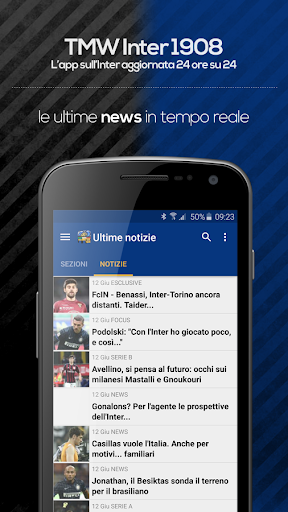 TMW Inter 1908 3.8.5 screenshots 1