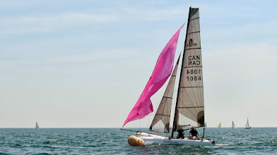 Photo: Water Rats Regatta - Jeff Gerrits was one of 4 JTowners crewing in the F18 fleets 7 boats.