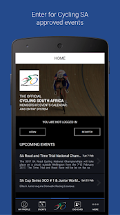 Cycling SA Events - náhled