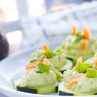 Avocado Tzatziki Cucumber Appetizer Recipe
