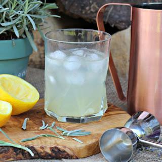 Lavender Gin Lemonade.