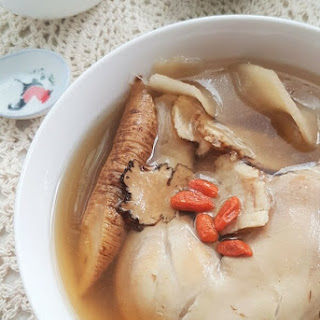 Chinese Herbal Chicken Soup.