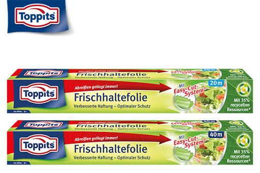 Bild für Cashback-Angebot: Toppits® Frischhaltefolie - Toppits