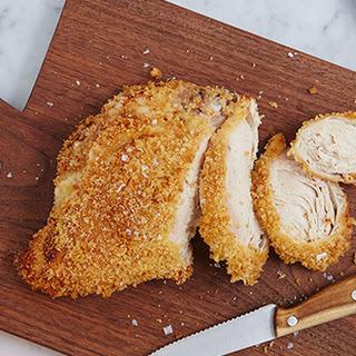 Garlic Breaded Roast Chicken Breast.