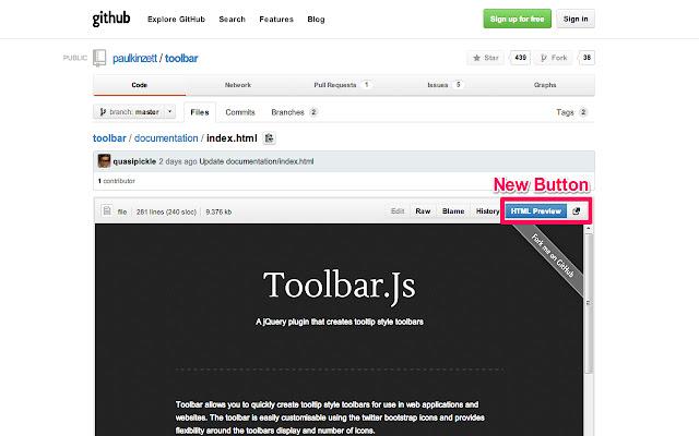 Github HTML Preview