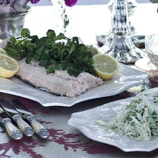 Poached Salmon with Dill Mayonnaise