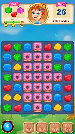 Gummy Paradise - Free Match 3 Puzzle Game  screenshots 7