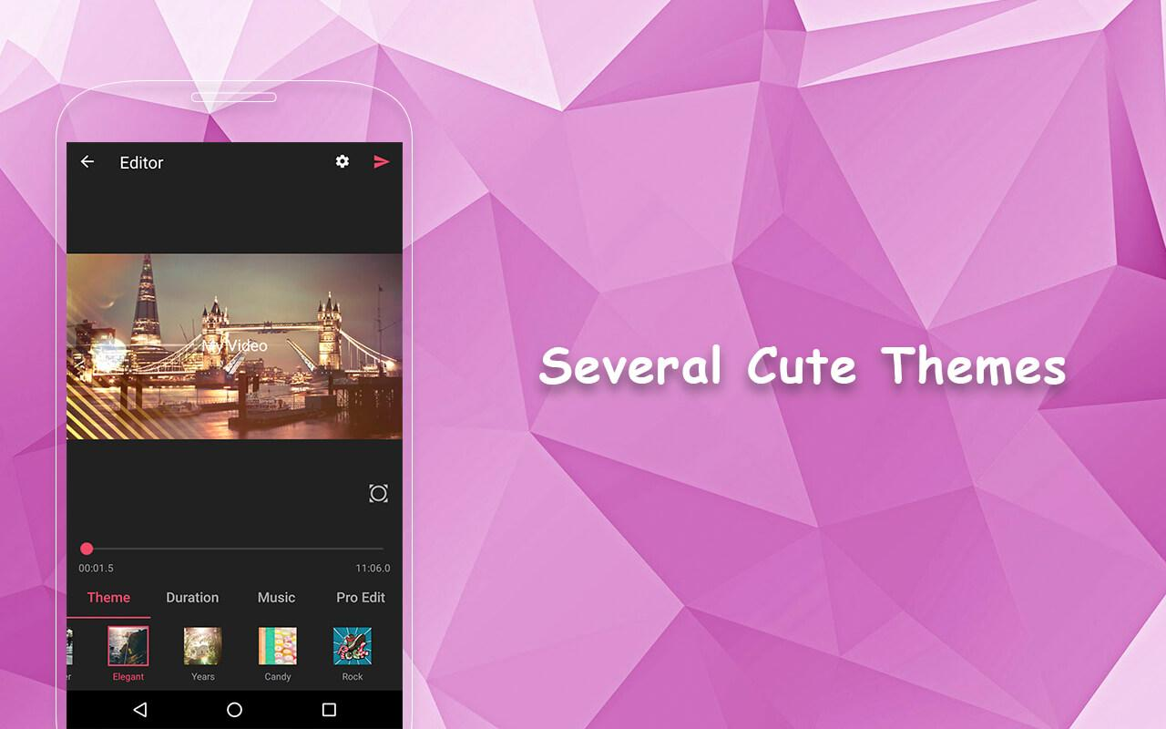 Screenshots of VideoShow - Video Editor for Android