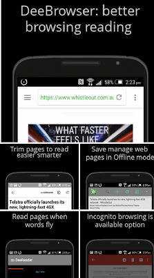 Dee Browser - Blocks Ads - screenshot