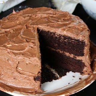 Deep Dark Mocha Chocolate Cake