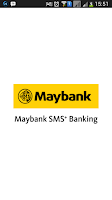 Screenshot of Maybank SMS+ Banking