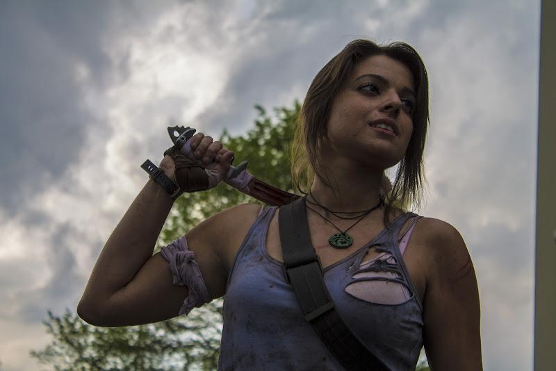 Lara Croft Cosplay di Daniela Valeri