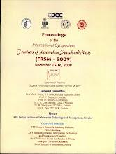 Photo: Pictures: http://picasaweb.google.com/speech.tifr/FRSM2009ABVIIITMGwalior#
