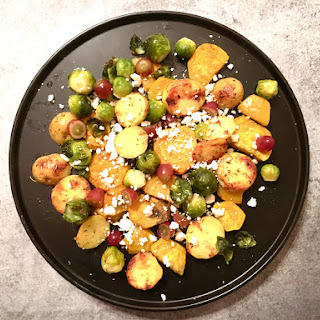 Autumn Roasted Vegetables With Feta