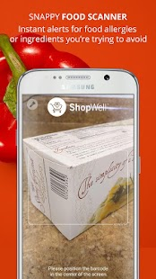 ShopWell Diet, Allergy Scanner- screenshot thumbnail
