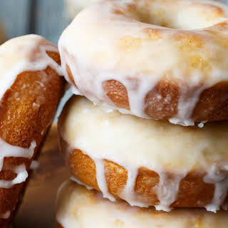 Baked Old Fashioned Donuts.
